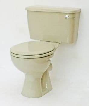 Pampas Toilet Pan and Cistern Close-Coupled