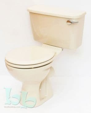 Soft Cream / Whisper Cream Toilet Pan and Cistern Close-Coupled