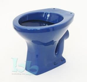 Sorrento Blue Toilet Pan (WC) Low-Level