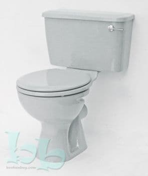 Whisper Grey Toilet Pan and Cistern Close-Coupled