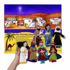 The Nativity Gift Set - Finger puppets