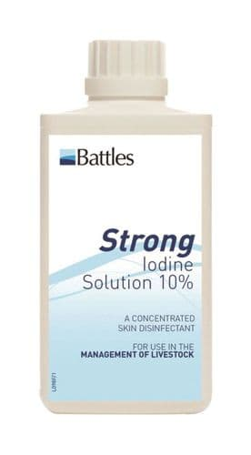 Battles Strong Iodine Solution 10%