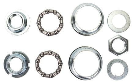 BMX/MTB USA Large Shell BB Cup & Bearing Set for 1 Piece Cranks