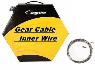 Bulk Box of 100 JAGWIRE Inner Bike Gear Cable Wire Shimano & Sram Galvanised, Stainless, Slick
