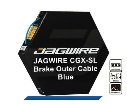 JAGWIRE Blue 5mm Bike Brake Outer Cable Housing CGX-SL Pre Lubricated