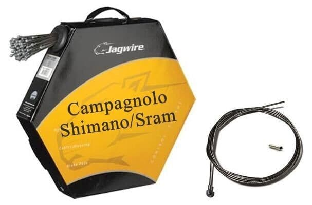 JAGWIRE Shimano / Campagnolo Road Bike Inner Brake Cable - Slick Stainless - Pro