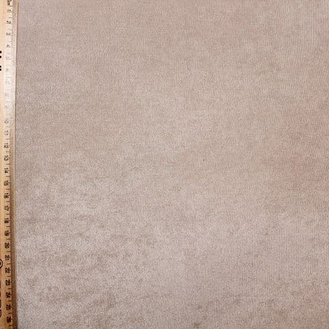 Polyester & Cotton Mix Upholstery Fabric - Smooth Tan