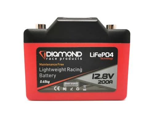 NEW! Lightweight LiFePO4 Racing Batteries from Diamond Race Products - DB-1 200A