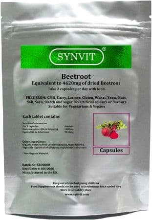 Beetroot 4620mg SYNVIT®