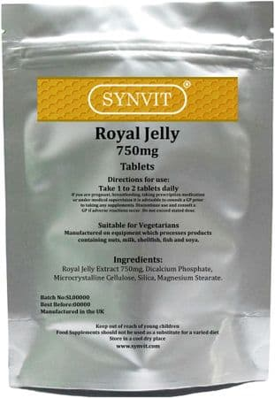 Royal Jelly 750mg SYNVIT®