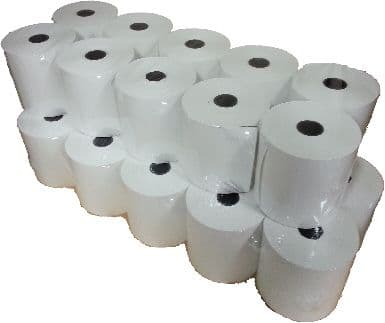 Box of 57mm x 57mm Thermal Paper Rolls