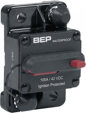 BEP SURFACE  MOUNT THERMAL CIRCUIT BREAKER 100A
