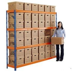 11 to 20 x Archive box collection and shredding service