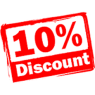 AUGUST 10% Discount Code Offer