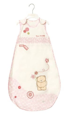 'IZZIWOTNOT' FOREVER FRIENDS PINK COLOUR 1 TOG SLEEP SUIT 0-6 MONTHS