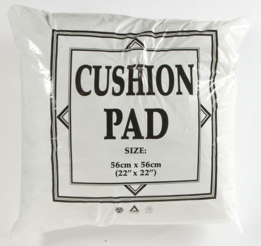 "22"" x 22"" POLYESTER FILLED CUSHION PAD"