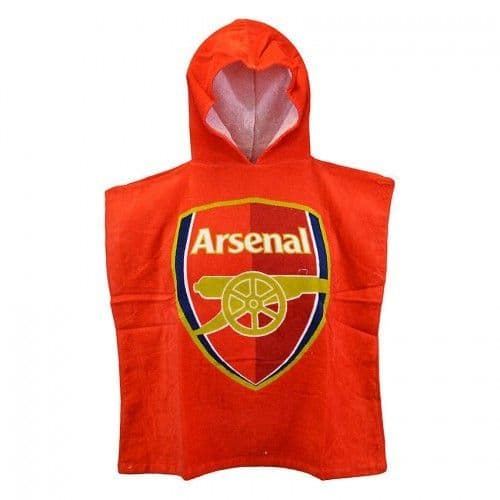 Arsenal FC Football Official Kids Hooded Poncho Towel