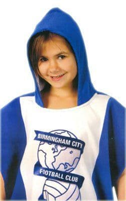 Birmingham City FC Official Hooded Poncho Towel