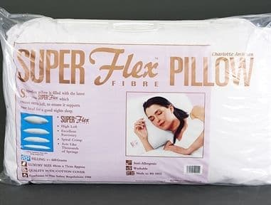FIRM HOLLOWFIBRE SUPER FLEX SUPPORT PILLOW