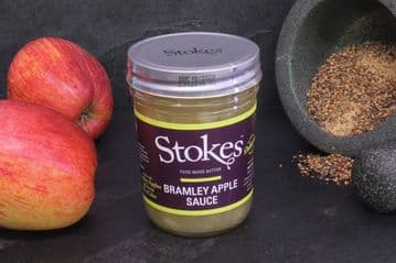 Stokes Bramley Apple Sauce with Cider
