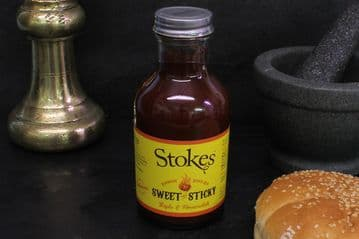 Stokes Smoke Flavoured Hot & Spicy Barbecue Sauce