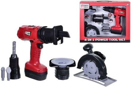 4 in 1 Power Tool Set
