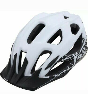 Apex M470 Enduro Helmet  White - Large