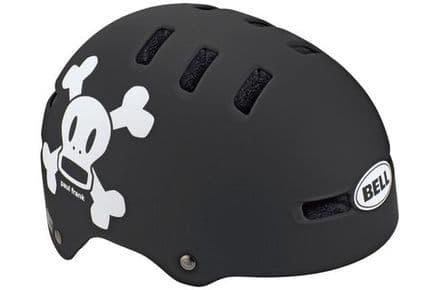 Bell Segment Jr Kids Helmet Black/White Paul Frank Skurvy
