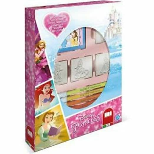 Disney Princess 4 piece Stamp Set