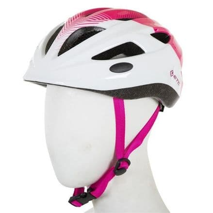 ETC J250 Junior Helmet White/Pink