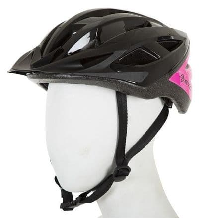 ETC L520 Adult Leisure Helmet Black/Pink 55cm-60cm