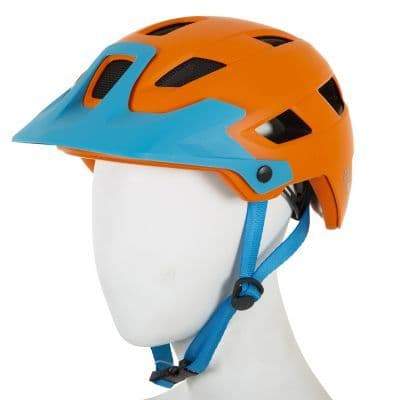 ETC M810 Adult MTB Helmet Large Orange/Blue 55cm-59cm - Moore Large