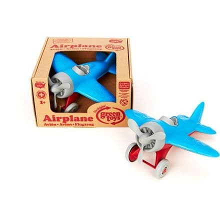 Green Toys Airplane (Blue Wings)