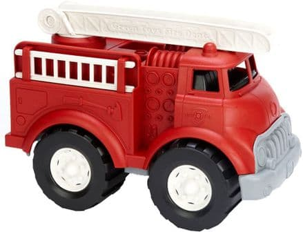 Green Toys Fire Truck with Moveable Ladders