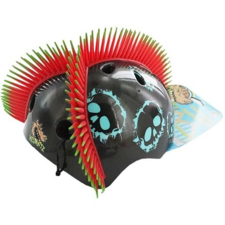 Hel-Muttz Moulded 3D Peace Spike Protector Helmet