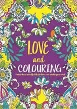 Love and Colouring book