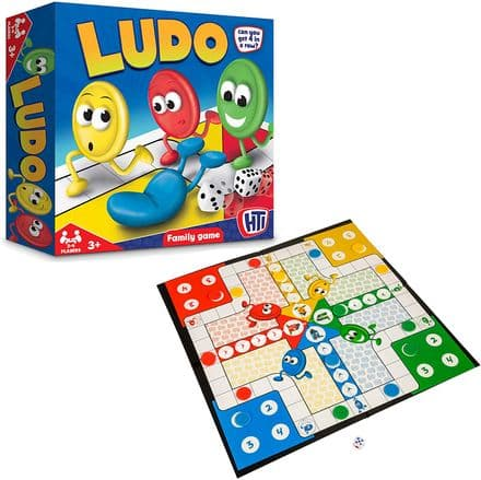 Ludo Family Board Game Set