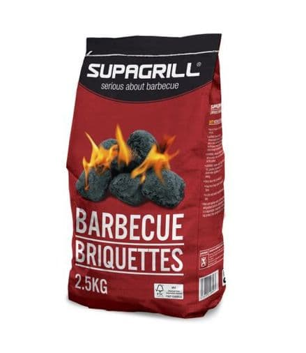 Supagrill Barbecue Briquettes - 2.5kg