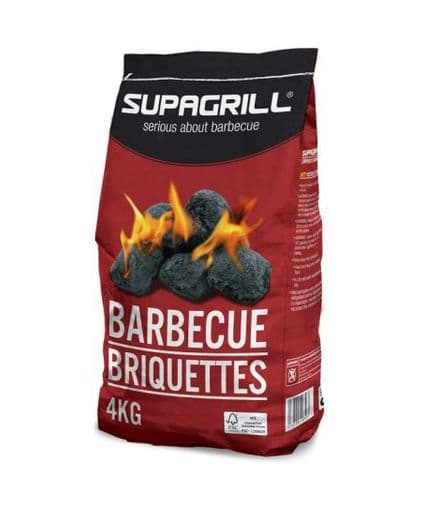 Supagrill Barbecue Briquettes - 4kg
