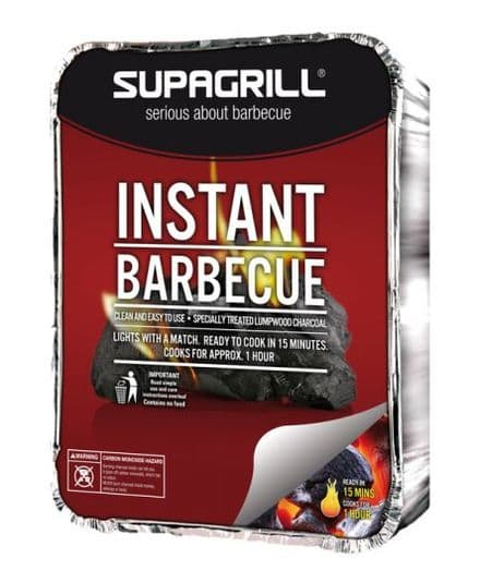 Supagrill Instant Barbecue Tray