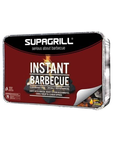 Supagrill Instant Barbecue Tray Party Size