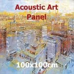 Acoustic Art Panel: Sized 100by100cm