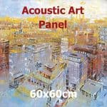 Acoustic Art Panel: Sized 60by60cm
