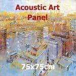Acoustic Art Panel: Sized 75by75cm