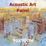 Acoustic Art Panel: Sized 90by90cm