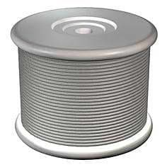 Clear Vertical Cable (10m Roll)
