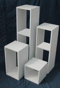 Hollow Pedestal: 60cm (high) x 30cm x 30cm