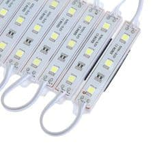 20 X LED Module 3 SMD5050 Strip Waterproof Strip Band Lamp DC 12V Cool  White IP65