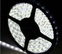 5M 300 LED`s 3528 SMD COOL WHITE Flexible LED Strip Light IP65 Waterproof
