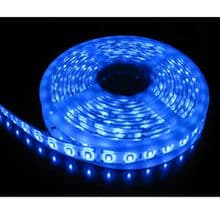 5M SINGLE COLOUR FLEXIBLE LED 5050 SMD Lights GREEN BLUE RED WARM WHITE DAY WHITE
